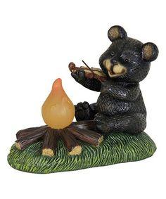 Charming Look What I Found On #zulily! Solar Campfire Bear Décor #zulilyfinds