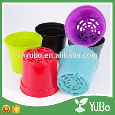 Plant Pots For Sale, Decorated Flower Pots, Plastic Flower Pots, Plastic Injection, Flower Nursery, Photo Holders, Biodegradable Products, Planter Pots, Herbs