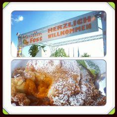 "Marillenfest, Krems/Stein - if you want the best ""Marillenknödel"" (apricot dumpling)"