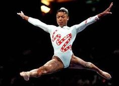 Dominique Dawes, The first African-American woman to win an individual Olympic medal in artistic gymnastics, and the first black person of any nationality or gender to win an Olympic gold medal in gymnastics.