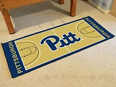 "University of Pittsburgh NCAA Basketball Runner 30"""" X 72"""""