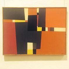 Kanskje det beste Gunnar S.Gundersen maleriet jeg har sett. Få med dere utstillingen rom for abstraksjon på Nasjonalmuseet. Anbefales! #nasjonalmuseet #romforabstrakjon #gunnarsgundersen #painting #vilha Dere, Instagram