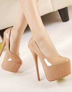 Western Style Rivet Embellished Bowknot Front Hight Heel Pump Apricot Apricot PM0068
