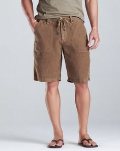 Lucky Brand specializes in high quality, comfortable clothing. We've got denim jeans, jackets, tees and accessories for both men and women. Linen Shorts, My Guy, Comfortable Outfits, Types Of Fashion Styles, Warm Weather, Denim Jeans, Style Me, Menswear, Mens Fashion
