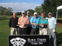 The teams assembled for Ocala's toughest golf competition on Black Friday 2011 Black Friday Golf, Tough Day, Charity, Competition, Faith, Believe