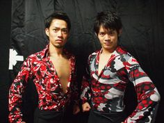 Daisuke and Takahiko