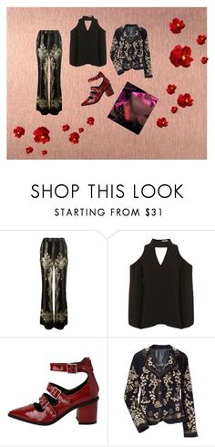 """Blood Sweat & Tears Inspo."" by melisaterlecki ❤ liked on Polyvore featuring Roberto Cavalli and StyleNanda"