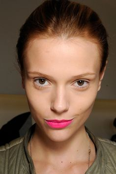 Candy colored lips. Not for me, but cute as can be.
