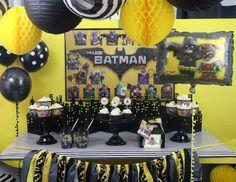 "LEGO Batman / Birthday ""LEGO Batman Movie party"" | Catch My Party"