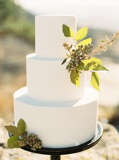 Dreamy Chic Colorado Wedding Inspiration from Sara Corona Photography - MODwedding Textured Wedding Cakes, White Wedding Cakes, Pretty Cakes, Beautiful Cakes, 50th Wedding Anniversary Cakes, Royal Cakes, Amazing Wedding Cakes, Amazing Cakes, Wedding Cake Decorations