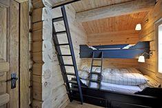 VA05713 retusj Log Homes, Bunk Beds, Kids Bedroom, Sweet Home, Stairs, Real Estate, Modern, House, Inspiration