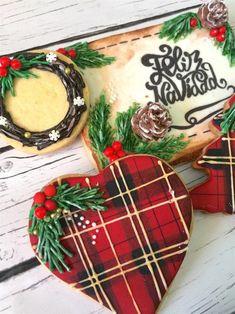 Tutorial paso a paso de cómo hacer estas galletas de Navidad Rústic Christmas Cookies
