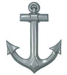 Plastic ships anchor - nautical themed party decoration