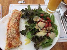 #instafood #salad #panqueca #lunch