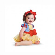 Disney Baby SNOW WHITE Prestige Infant Costume featuring Disney Princess
