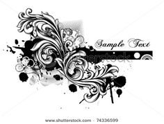Google Image Result for http://image.shutterstock.com/display_pic_with_logo/146584/146584,1301596338,3/stock-vector-grunge-floral-vector-illustration-74336599.jpg