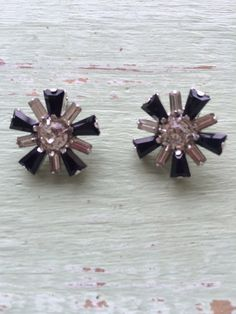 A personal favorite from my Etsy shop https://www.etsy.com/listing/226022359/vintage-rhinestone-clip-on-earrings-b