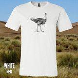 Ostrich Gift, Mens Tops, T Shirt, Fashion, Supreme T Shirt, Moda, Tee Shirt, Fashion Styles, Fashion Illustrations