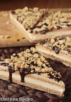 Knoppers domowy -wafelki z masą mleczno - nugatową Churros, International Recipes, Cupcake Cakes, Cravings, Deserts, Good Food, Goodies, Food And Drink, Cooking