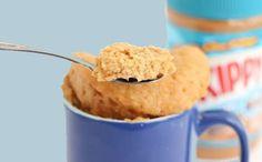 Sweet Treats In 5 Minutes! 20 Mug Cake Recipes That Get Us Drooling Sweet Treats In 5 Minutes! 20 Mug Cake Recipes That Get Us Drooling Best Mug Cake Recipes, Mug Recipes, Cookbook Recipes, Just Desserts, Delicious Desserts, Dessert Recipes, Yummy Food, Dessert In A Mug, Peanut Butter Mug Cakes