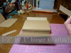 Tutorial for Playful Pocket Wallet Flip Mini - scrapbooking mini album