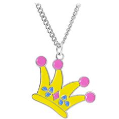 Stainless Steel Jester Hat Charm Necklace | Body Candy Body Jewelry