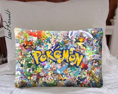 All Pokemon Considered on Decorative Pillow by TheLastResult, $16.50