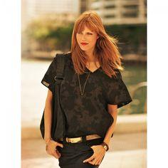 T-shirts n°116 de Burda Style Juillet 2011