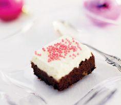Blondie Brownies, Christmas Treats, Blondies, Gingerbread, Cheesecake, Baking, Sweet, Desserts, Squares