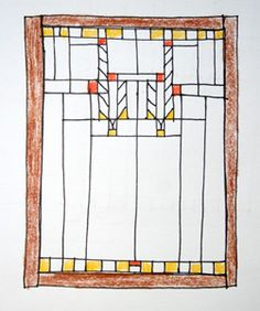 Inspiration Monday: Frank Lloyd Wright's art glass windows