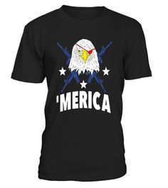 BALD EAGLE BEARING ARMS T SHIRT  #september #august #shirt #gift #ideas #photo #image #gift