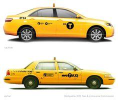 New York Taxi Logo
