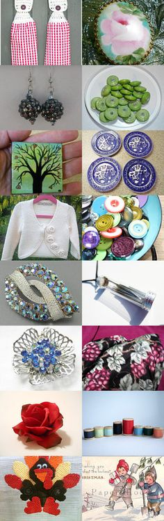 To Grandmother's House We Go  -  A Potti Team Treasury by Chip and Michele Davidson on Etsy--Pinned with TreasuryPin.com