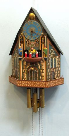 Chalet Style Cuckoo Clock