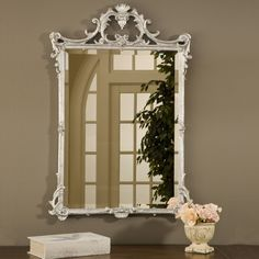 Hickory Manor House English Mirror, Shimmer ** Find out more about the great product at the image link. (This is an affiliate link and I receive a commission for the sales) Hall Mirrors, Mirrors For Sale, Framed Mirrors, Beveled Mirror, Beveled Glass, Mirror Mirror, Mirror Glass, English Country Decor, French Country