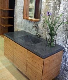 Bamboo Bathroom Cabinets