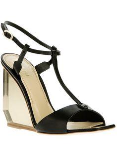 Pollini Wedge Sandal - Biondini - farfetch.com