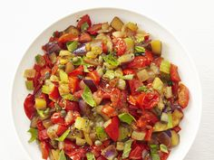 Eggplant Caponata recipe from Food Network Kitchen via Food Network