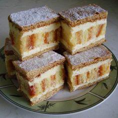 Csíkos sütemény Recept képpel - Mindmegette.hu - Receptek