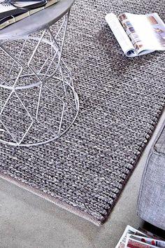Vloerkledenwinkel Basic Kabel Charcoal