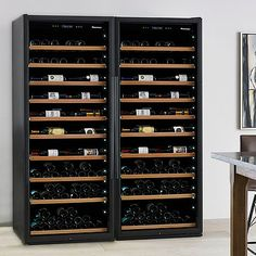 Classic XL 600-Bottle Wine Cellar with VinoView Shelving at Wine Enthusiast - $4,499.00