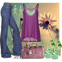 """""""Casual Chic Spring & Summer Outfit"""" by cog-hz on Polyvore"""
