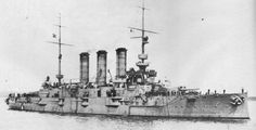 Erzherzog Karl (Erzherzog Karl Class). Taken by Yugoslavia in 1919  but given to France in 1920 and scrapped.