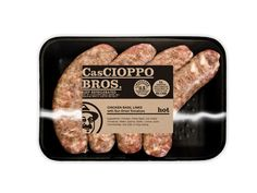 Cascioppo Sausage on Packaging of the World - Creative Package Design Gallery