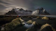 Vestrahorn, Iceland.   Facebook - Robert Scott Photography Instagram - #Robert_Scott_Photography www.robertscott.ca
