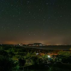 @Regrann from @ptrjkb03 -  #balatongyörök #szepkilato #night #nightphoto #nightlanscape #landscape #stars #lake #balaton #platensee #nightcolors  ##visual #instakozosseg #mood #nyugalom #silence #calmness #regrann