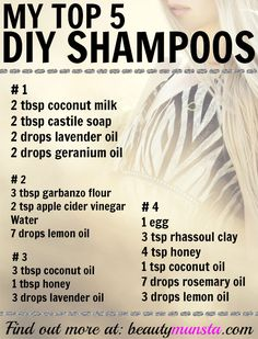 My Top 5 Favorite Natural Shampoo Recipes DIY at Home My Top 5 Favorite Natural Shampoo Recipes DIY at Home! The post My Top 5 Favorite Natural Shampoo Recipes DIY at Home appeared first on Selber Machen Ideen. Natural Beauty Tips, Natural Hair Styles, Natural Oils, Natural Shampoo Recipes, Natural Shampoo Homemade, Homemade Shampoo And Conditioner, Homemade Shampoo Recipes, Shampoo For Natural Hair, Diy Hair Growth Shampoo