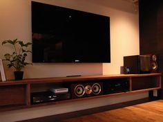 テレビ壁掛け造作