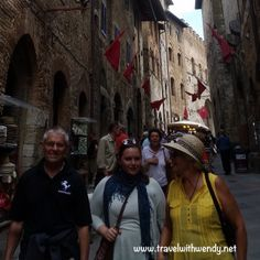 TWW- grands and Katy San Gimignano