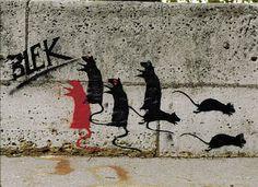 The Godfather of Street Art: Blek Le Rat - StreetArt101